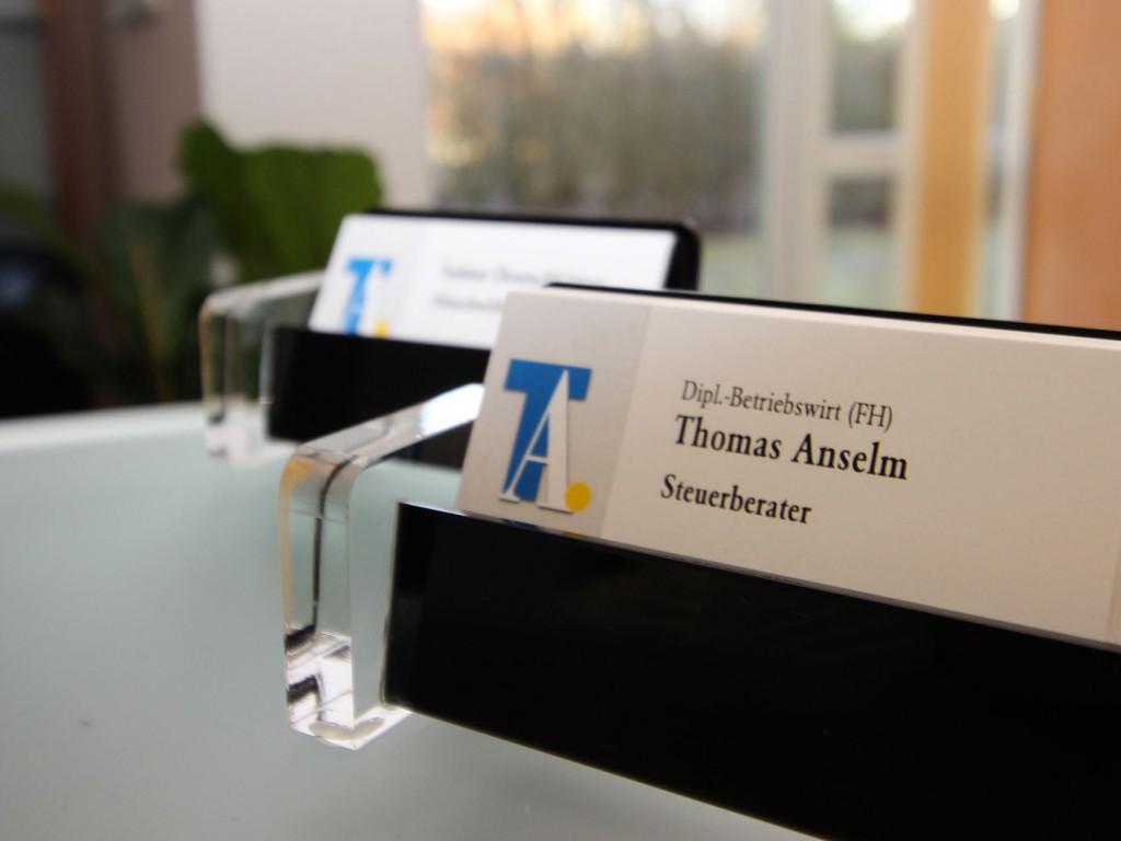 Steuerberater Thomas Anselm