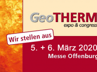 Fachmesse GeoTHERM vereint Geothermie-Branche