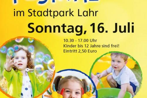 10. Kinderfestival im Stadtpark am 16. Juli 2017