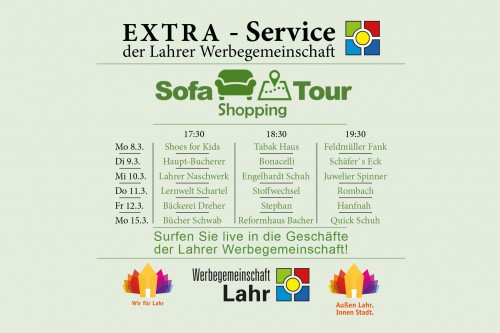Sofa Shopping Tour in Lahr