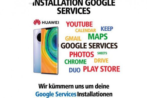 Die Google Services Installation
