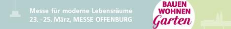 Bauen Wohnen und Garten Messe Offenburg