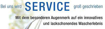 PKW-Waschstraße - unser Plus an Service