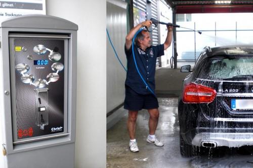 Die neuen SB-Waschboxen stehen Ihnen ab sofort zur Verfügung!