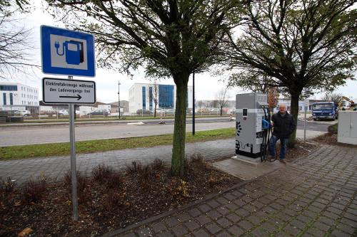 NEU NEU NEU - Elektro Schnell-Ladestation