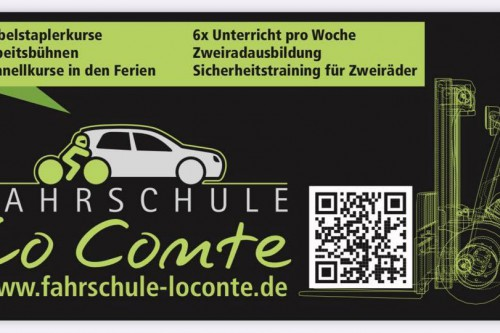 Fahrschule Lo Conte ab 11.05.2020 wieder geöffnet