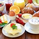 Großes Frühstücksbuffet