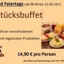 Wochenend- und Feiertags Frühstücksbuffet