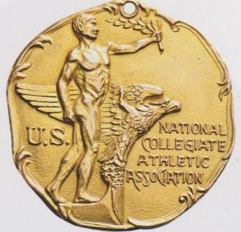 Siegermedaille von Jesse Owens