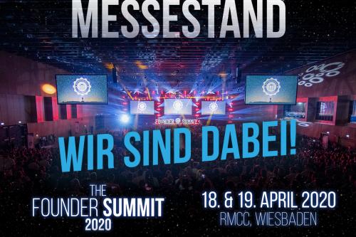 Founder Summit 2020 - Wir sind dabei!