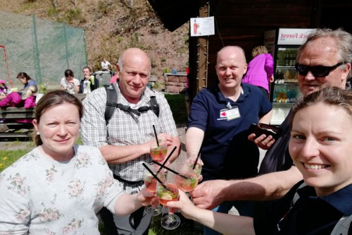1000 WANDERFREUNDE AM 1.MAI 2019 AM HIMMELSSTEIG IN BAD PETERSTAL-GRIESBACH