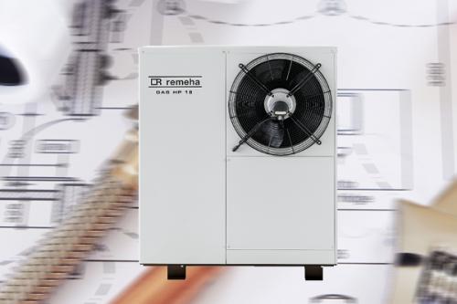 Erneuerbare Energie für das Ein- und Mehrfamilienhaus mit Gas-Absorptionswärmepumpe von Remeha
