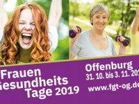 Die FrauenGesundheitsTage sind wieder da! Vorträge und Workshops in Offenburg.