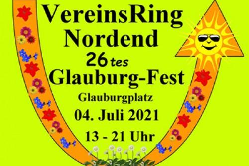 Anmeldung zum Glauburgfest 2021