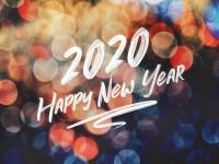 Wir wünschen das Beste für 2020