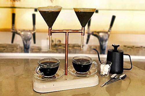 Kaffeezubereiter Doppel