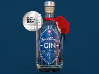 Silber für unseren Black Cherry Gin