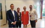 Prominenter Besuch beim BNI Unternehmerteam  SALMEN