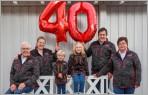 Forst- und Gartengeräte in Lahr. Haller feiert 40-jähriges Firmenjubiläum.