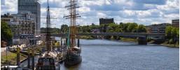 Die Überseestadt Bremen